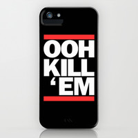 Ooh Kill Em RUN DMC iPhone & iPod Case by RexLambo