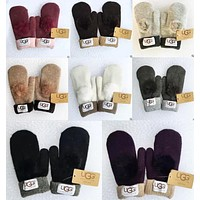 UGG Winter Women Men Keep warm Lovely Couples Glove More Color Choice