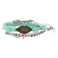 Disney The Little Mermaid Kiss The Girl Bracelet 5 Pack