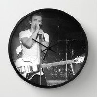 Hunter Hayes  Wall Clock by Michelle Albert