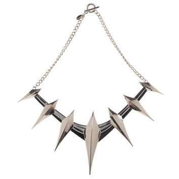 Marvel Black Panther Spike Cosplay Necklace