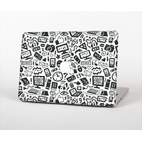 The Black & White Technology Icon Skin Set for the Apple MacBook Air 13""