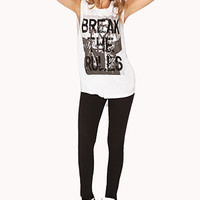 Break The Rules Muscle Tee