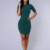 Campbell Dress - Green
