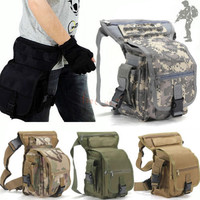 Multi-purpose Leg Drop Thigh Pack Utility Bag Waist Belt Travel Outdoor Tactics