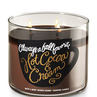 HOT COCOA & CREAM3-Wick Candle