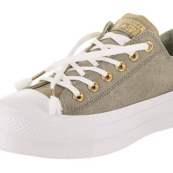 Converse Women s Chuck Taylor All Star Lift Ox Casual Shoe 39dd5c5369eb