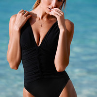 NEW! Pleated One-piece