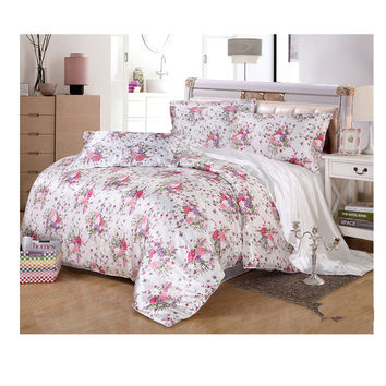Silk King Queen Double Size Silk Duvet Quilt Cover Sets Bedding Cove Setr 2.0M/2.2M Bed 04