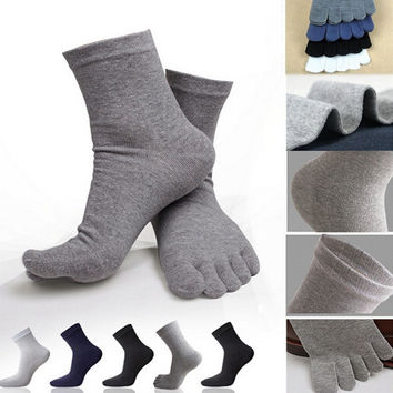 5 Finger Toe Socks