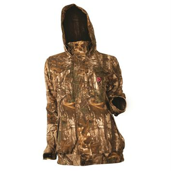 Scent Blocker Sola Womens Outfitter Jacket-Camo-Large
