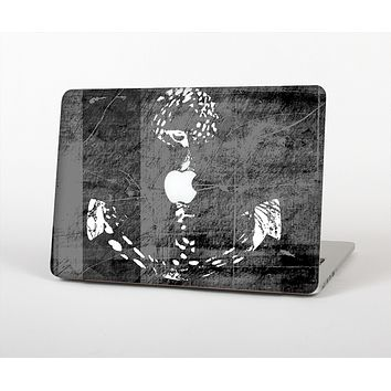 The Smudged White and Black Anchor Pattern Skin for the Apple MacBook Air 13""