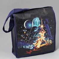 Black Star Wars Character Art Messenger Tote