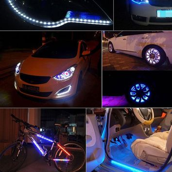 Waterproof LED Auto Strip Band light For Interior Decor