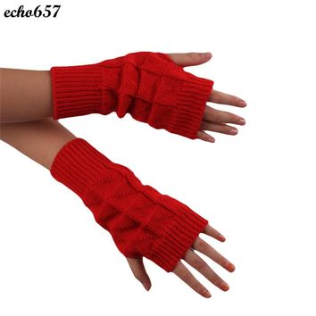 Echo657 Hot Sale New Fashion Knitted Fringe Warm Gloves Oct 21