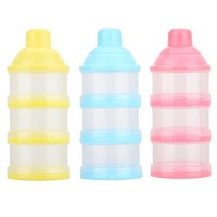 Baby Food Container Infant Feeding Milk Snacks Boxes Powder Milk Box Storage Feeder Bottle Baby Kids Food Containers