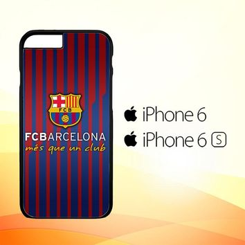 FC Barcelona - Mes Que Un Club O0441 iPhone 6|6S Case