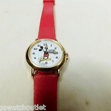 Mickey Mouse Vintage Cartoon/Idol Mechanical Swiss Made Pre-Owned Watch....26mm