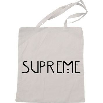 Supreme American Horror Story Handmade Bag, Canvas Bag, Tote Bag