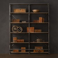 French Library Shelving Wide | Shelving & Cabinets | Restoration Hardware