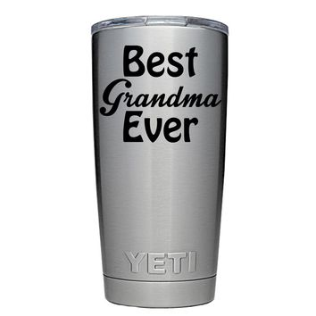 YETI 20 oz Best Grandmother Ever Tumbler
