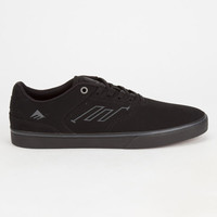 Emerica The Reynolds Low Vulc Mens Shoes Black/Black  In Sizes