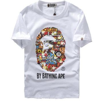 spbest A Bathing Ape Baby Milo Zoo By Bathing T-Shirt