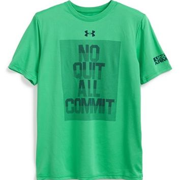 Boy's Under Armour 'No Quit All Commit' Graphic T-Shirt,