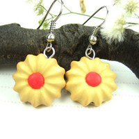 Butter Cookies Earrings - Food Jewelry