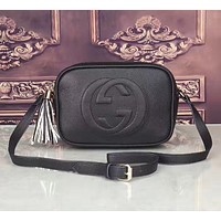 '' Gucci '' Women Leather Shoulder Bag Crossbody Satchel