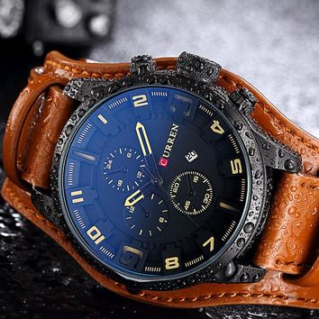 Military Steampunk Sports Male Quartz-Watches