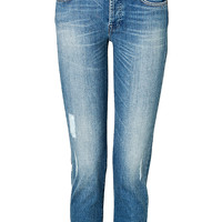 Seven for all Mankind - Josefina Jeans in Imperial Blue Distress