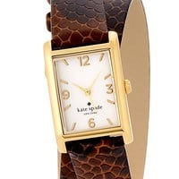 women's cooper snake embossed wrap strap watch