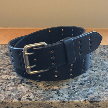 The Han Solo Belt (Full Grain, Double-Prong Buckle)