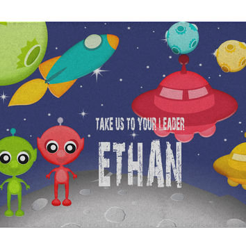 Personalized Space Activity Rug