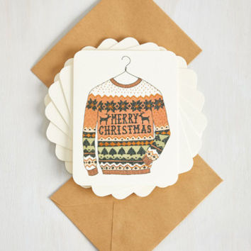 For the Greeter Good Notecard Set by ModCloth