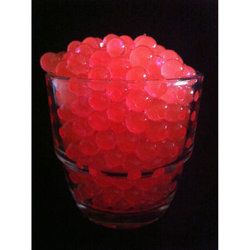 Water Beads Pearls Jelly Balls Vase Fillers, Large, Red