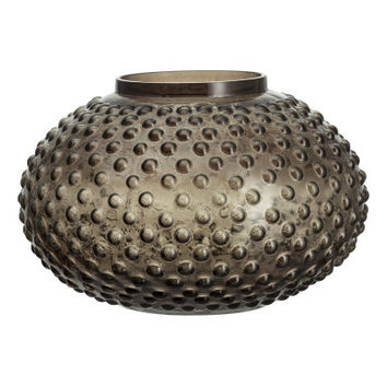 H&M Large Textured Glass Vase $24.99