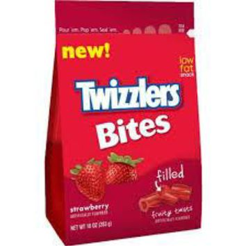 Twizzlers Bites Strawberry Filled Candy, 10 oz