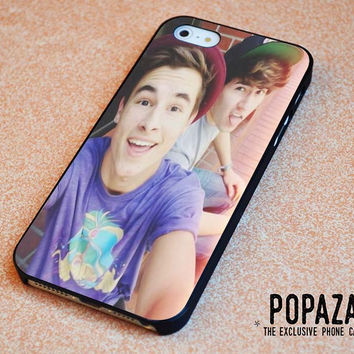 Kian Lawley and Jc Caylen iPhone 5 | 5S Case Cover
