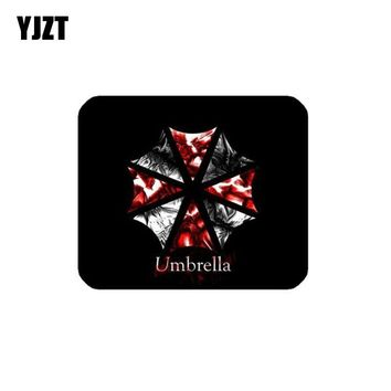 YJZT 12.6CM*10.6CM Personality Reflective Car Sticker Resident Evil UMBRELLA COMPANY Motorcycle Parts C1-7544