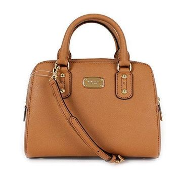 Michael Kors Saffiano Leather Small Satchel