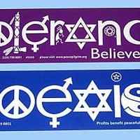 COEXIST and TOLERANCE Bumper Stickers 2 Great Stickers, 1 WONDERFUL MESSAGE! by BestDealDepot