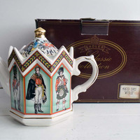 Boxed Classic Collection Sadler Historical Series Minster Teapot 'Waterloo' Staffordshire England