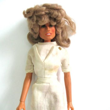 vintage Farrah Fawcett Doll from Charlies Angels Mego 1975