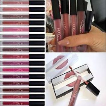 Matte 6-color Box Matt Cup Lip Gloss [11617131279]