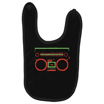 a tribe called quest   speaker hip hop the cutting edge Baby Bibs