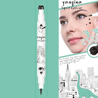 2015 Women's Fashion Black Eyeliner Waterproof Liquid Eye Liner Long-lasting Pencil Makeup Beauty Cosmetic = 1705917188