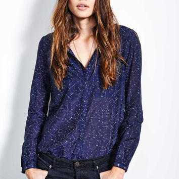Constellation Star Print Shirt
