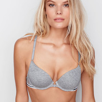 Front-Close Racerback Push-Up Bra - Cotton Lingerie - Victoria's Secret